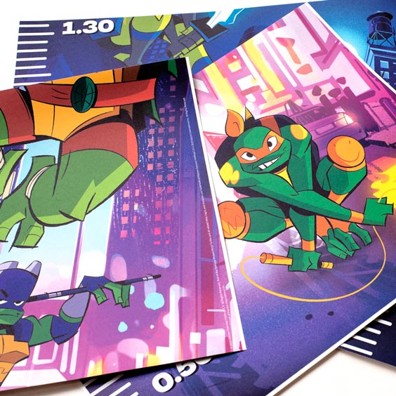 The Ninja Turtles Growth Chart