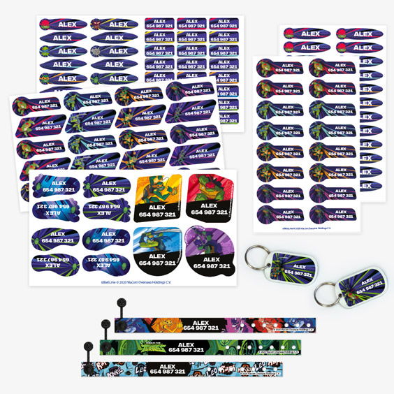 The Ninja Turtles ID Bracelet Pack