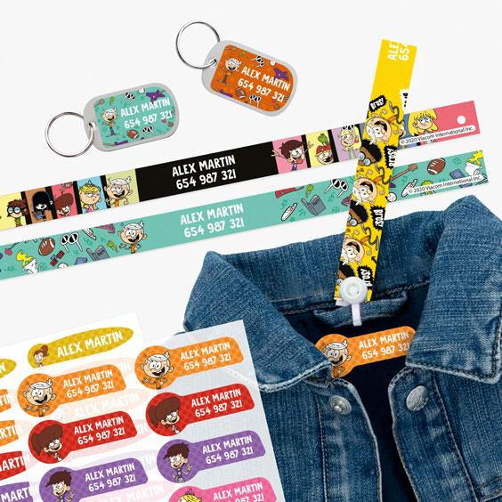 Fitas para pendurar, Etiquetas para roupa e Tags para bagagem Loud em Casa