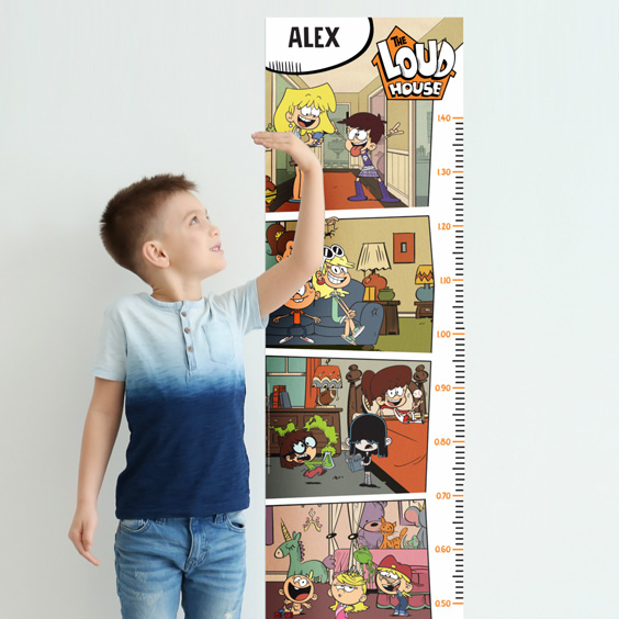 The Loud House Growth Chart