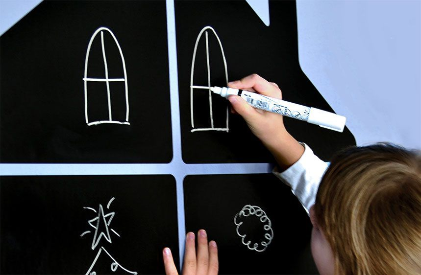 Color Pack: Liguid chalk for chalkboards