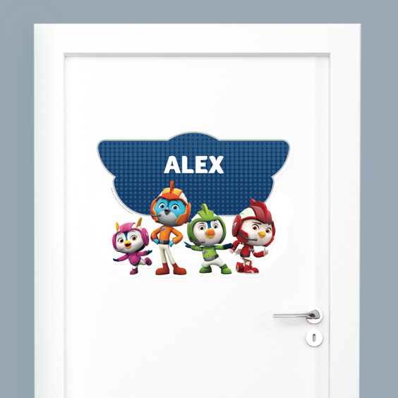Top Wing Custom Wall Stickers