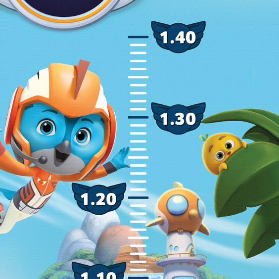 Top Wing Growth Chart