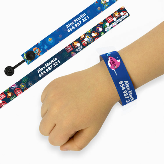 Bracelet Identification Enfant Top Wing