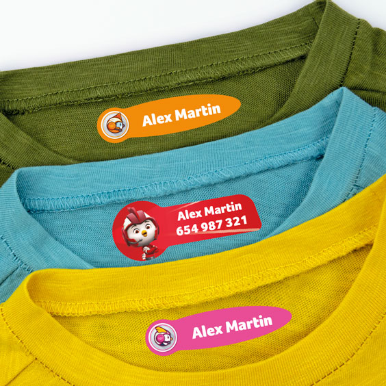 Top Wing Clothing Labels
