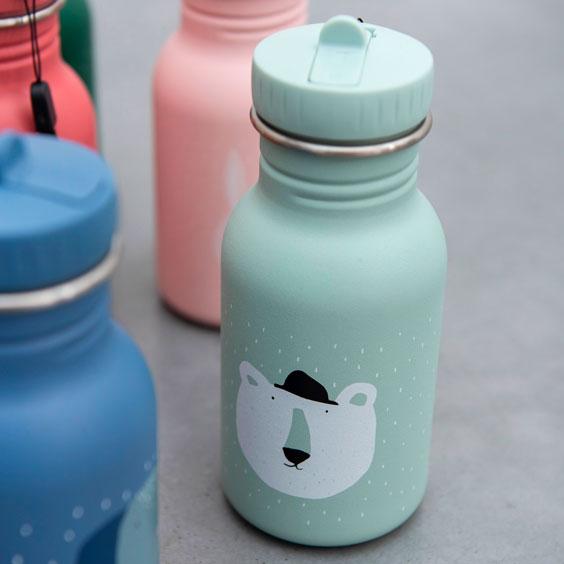 Borraccia Mr. Bear Trixie personalizzabile per bambini