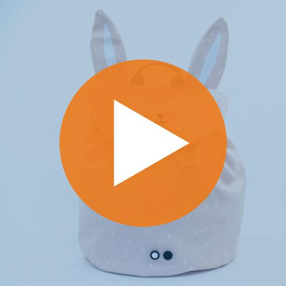 Mini motxilla Mrs. Rabbit Trixie