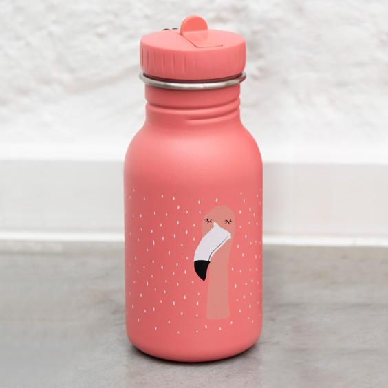 Gourde personnalisée maternelle Trixie Mrs. Flamingo
