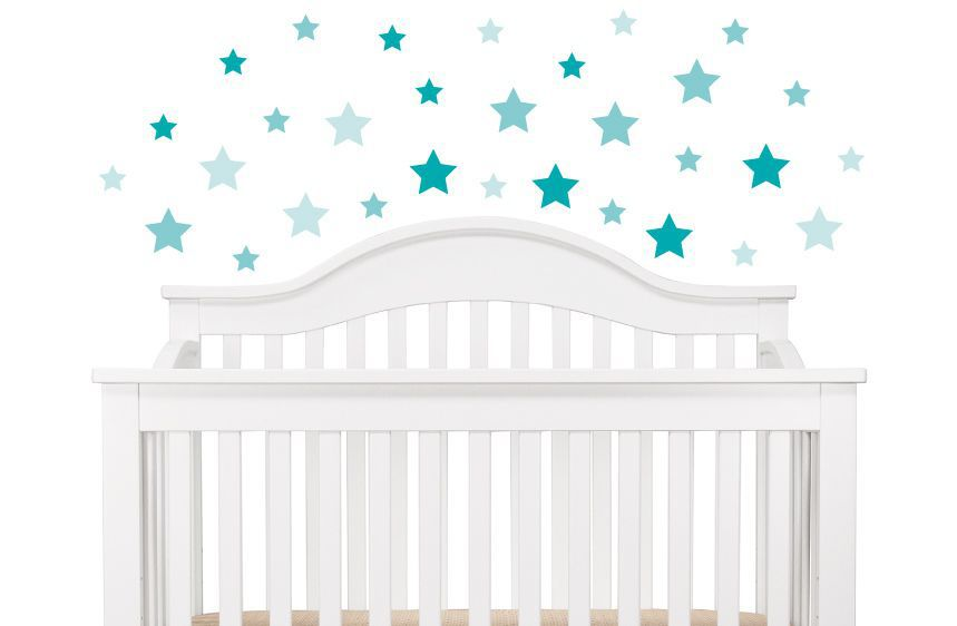 Blue Stars Wall Decals A