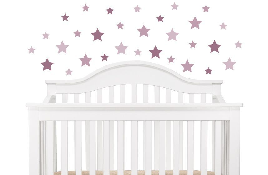 Pink Stars Wall Decals A
