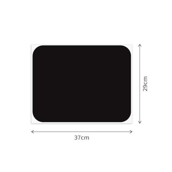 1 Rectangle Chalkboard Decals