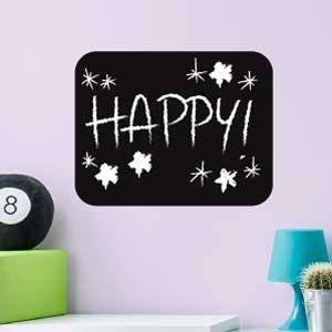 1 Rectangle blackboard wall sticker