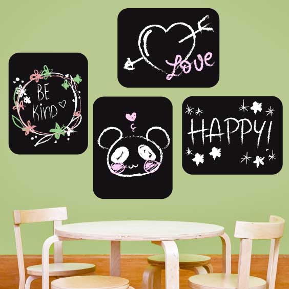 Rectangle Chalkboard Decal