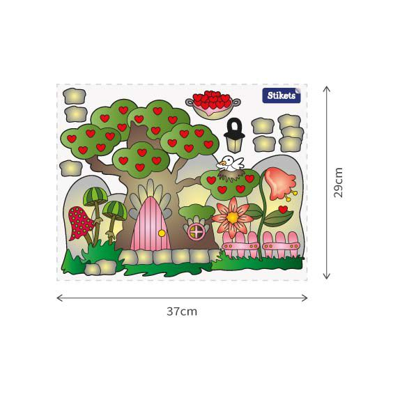 Fairy Garden Wall Decal