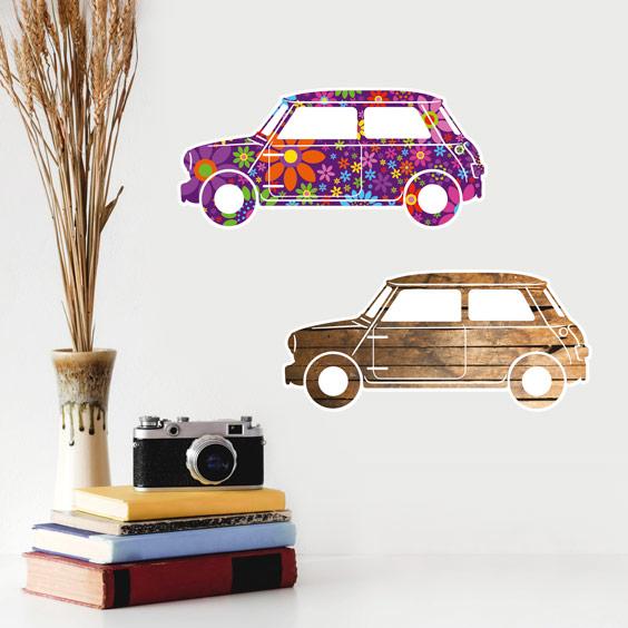 Vinilo coches Mini 1