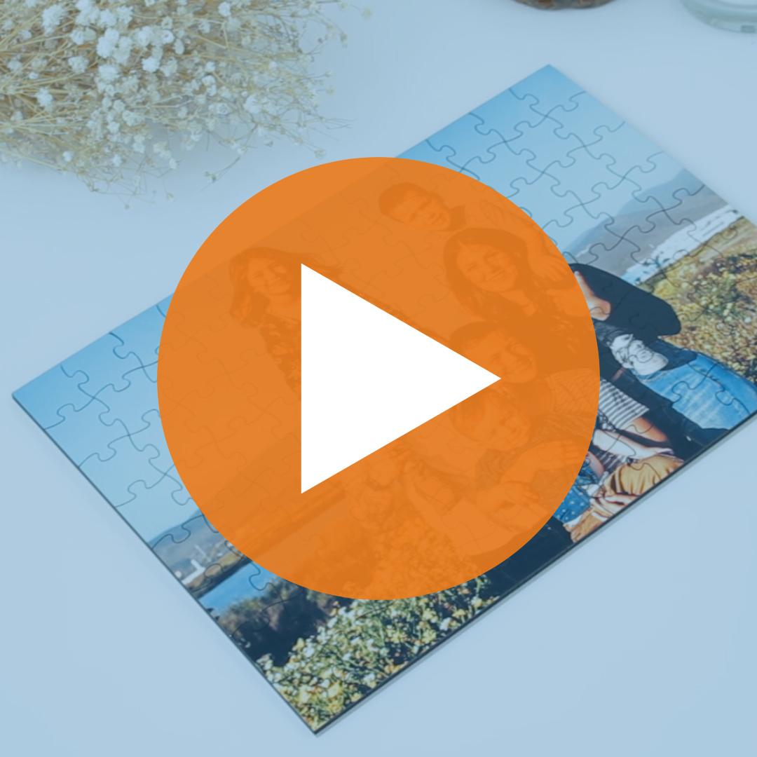 Puzle personalitzat amb foto en fusta