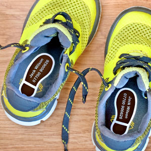Classic Shoe Labels